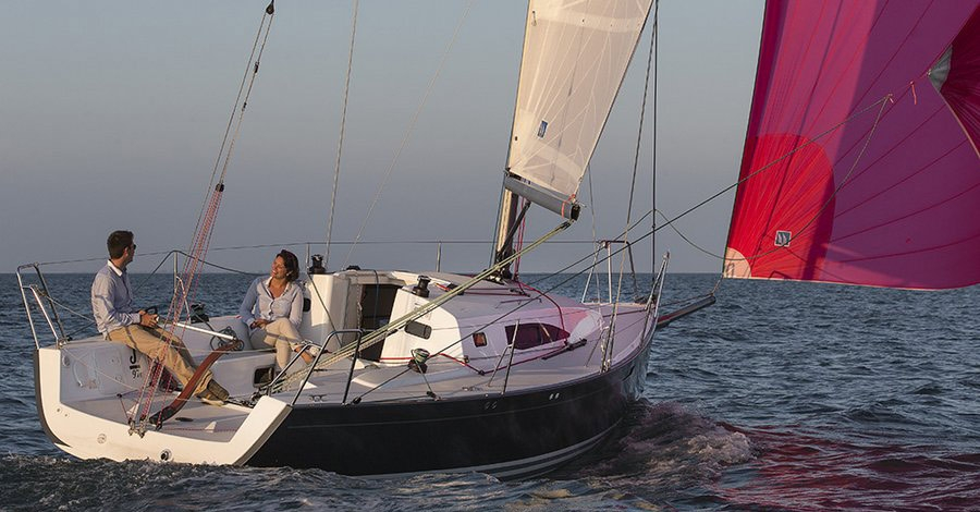 turning blocks sailing j92e fast cruiser spinnaker sailing