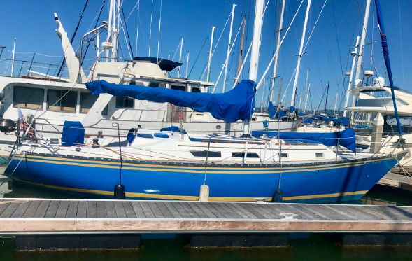 37' Hunter 37' Cherubini Cutter