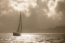 Stormy sail
