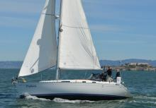 Dufour 36 on the Bay