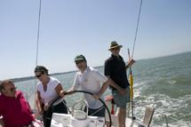 Skippered charter on the bay